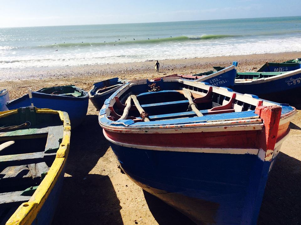 Taghazout Fishing Boats Morocco